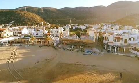 Ηράκλειο: Το «χρυσαφένιο» ηλιοβασίλεμα στη Σταλίδα μέσα από ένα σούπερ drone βίντεο