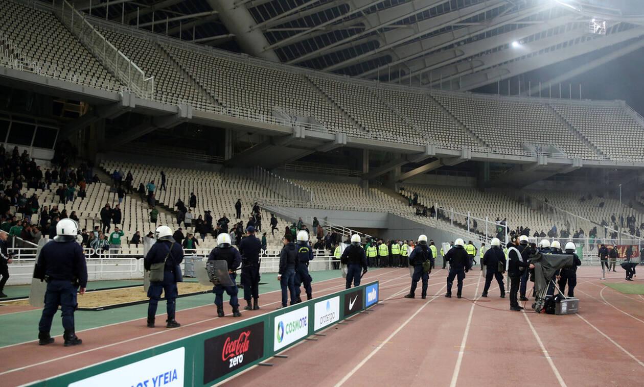 Παναθηναϊκός-Ολυμπιακός: Οκτώ συλλήψεις για τα επεισόδια στο ΟΑΚΑ, για αρχή