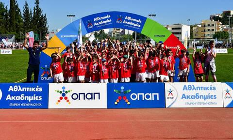 Φεστιβάλ Αθλητικών Ακαδημιών ΟΠΑΠ: Μεγάλη γιορτή του αθλητισμού στα Σπάτα με συμμετοχή 3.000 παιδιών