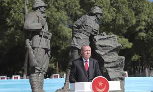 Παραλήρημα Ερντογάν: «Βρισκόμαστε εδώ 1000 χρόνια και θα είμαστε εδώ μέχρι την Αποκάλυψη»
