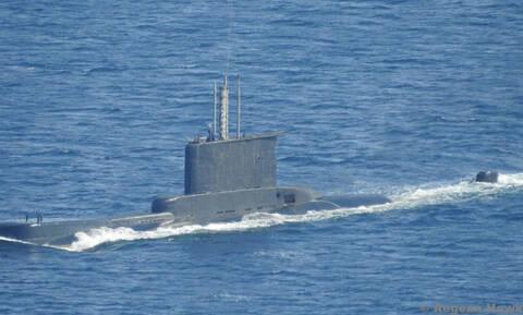 «Εμπλοκή» ελληνικού υποβρυχίου με τουρκική ακταιωρό - Φωτογραφίες ντοκουμέντο