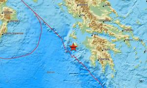 Σεισμός ΤΩΡΑ κοντά στη Ζάκυνθο (pics)