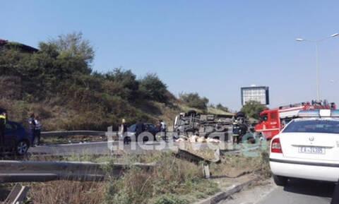 Θεσσαλονίκη: Φρικτό τροχαίο - Διαμελίστηκε μοτοσικλετιστής