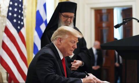 Трамп: американское общество сформировано под влиянием греческой культуры