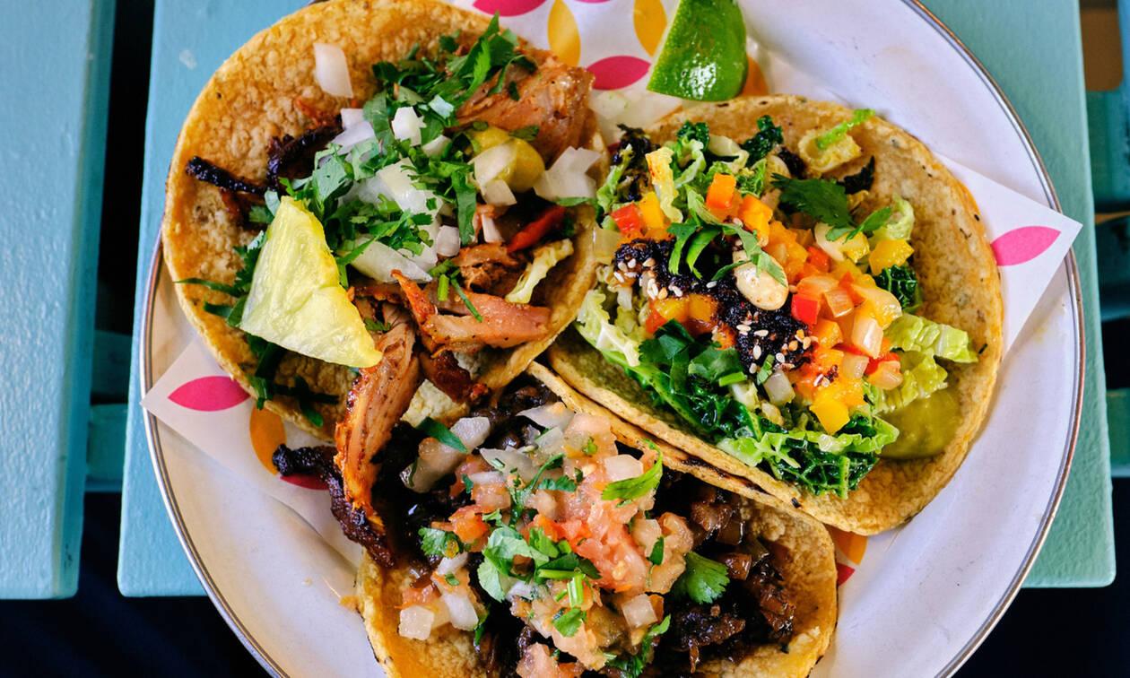 Φτιάξε tacos χωρίς γλουτένη με γαρίδες