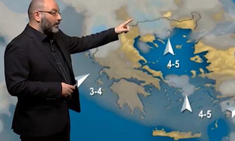 Τα τελευταία στοιχεία για τον καιρό της 25ης Μαρτίου. Η ανάλυση του Σάκη Αρναούτογλου (Video)