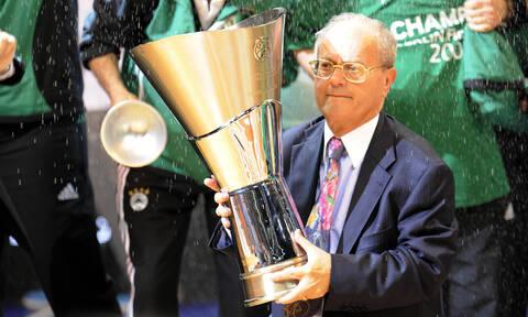 Euroleague: «Ο Θανάσης Γιαννακόπουλος θα λείψει πολύ από το μπάσκετ»