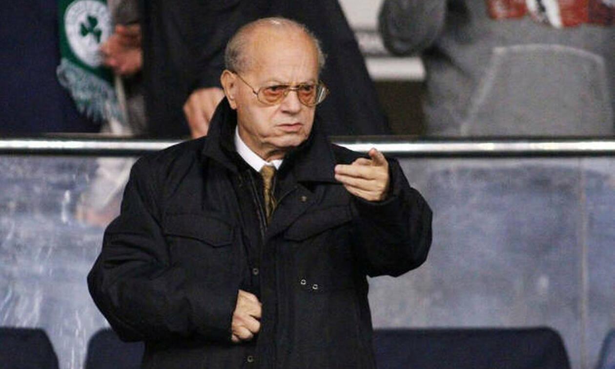 Θανάσης Γιαννακόπουλος: Το «αντίο» των ποδοσφαιριστών του Παναθηναϊκού (photos)