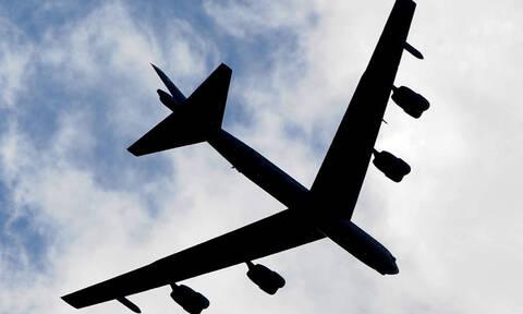 Αμερικανικό βομβαρδιστικό πέταξε πάνω από το Αιγαίο - Έφτασε μέχρι την Κύπρο