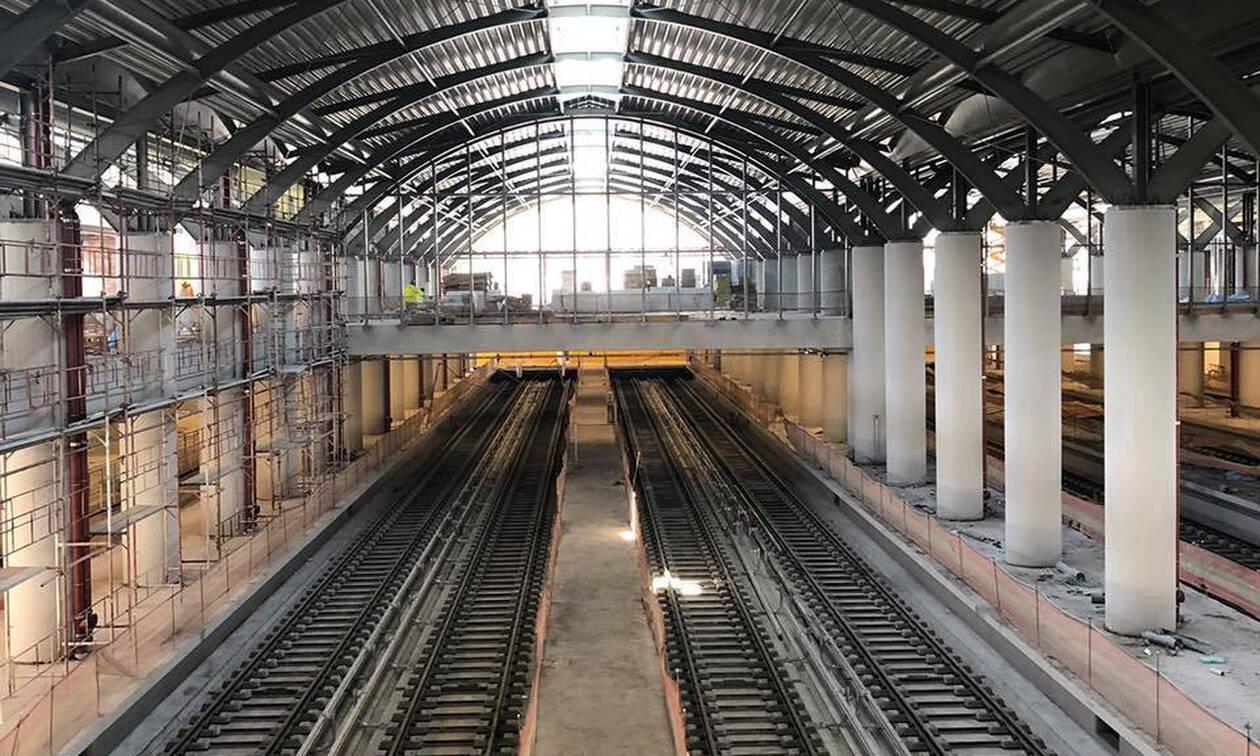 Έτοιμο για τα πρώτα βαγόνια το αμαξοστάσιο του Μετρό Θεσσαλονίκης (pics)
