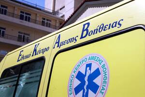 Θρίλερ στην Πάτρα: Γυναίκα έπεσε από πολυκατοικία - Συμπαρέσυρε καλώδια της ΔΕΗ (pics)