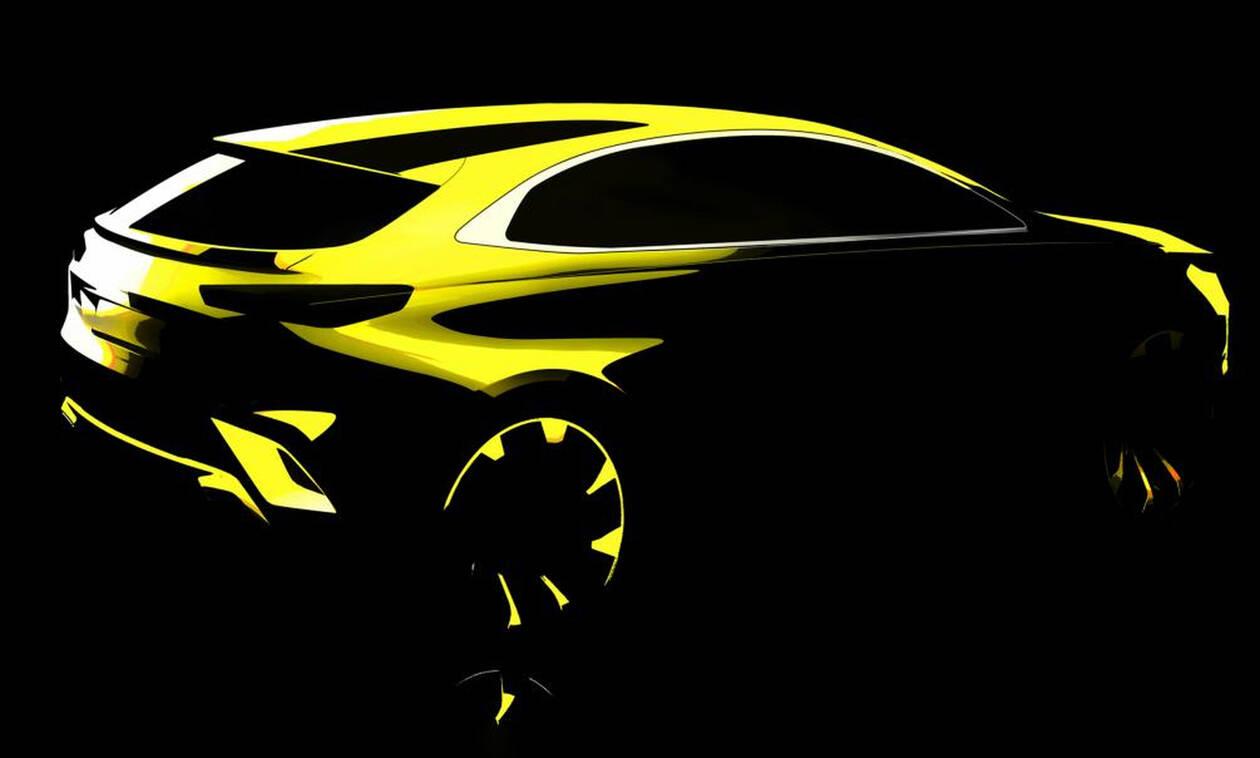 Αυτή είναι η πρώτη εικόνα του ΧCeed, του νέου crossover της Kia