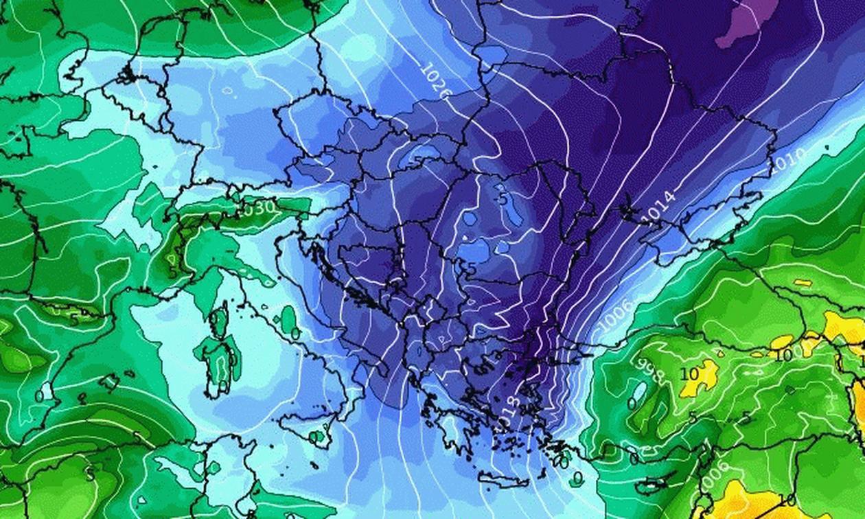 Καιρός: Τα τελευταία στοιχεία για τη νέα ψυχρή εισβολή που... φέρνει ξανά χιόνια και κρύο (videos)