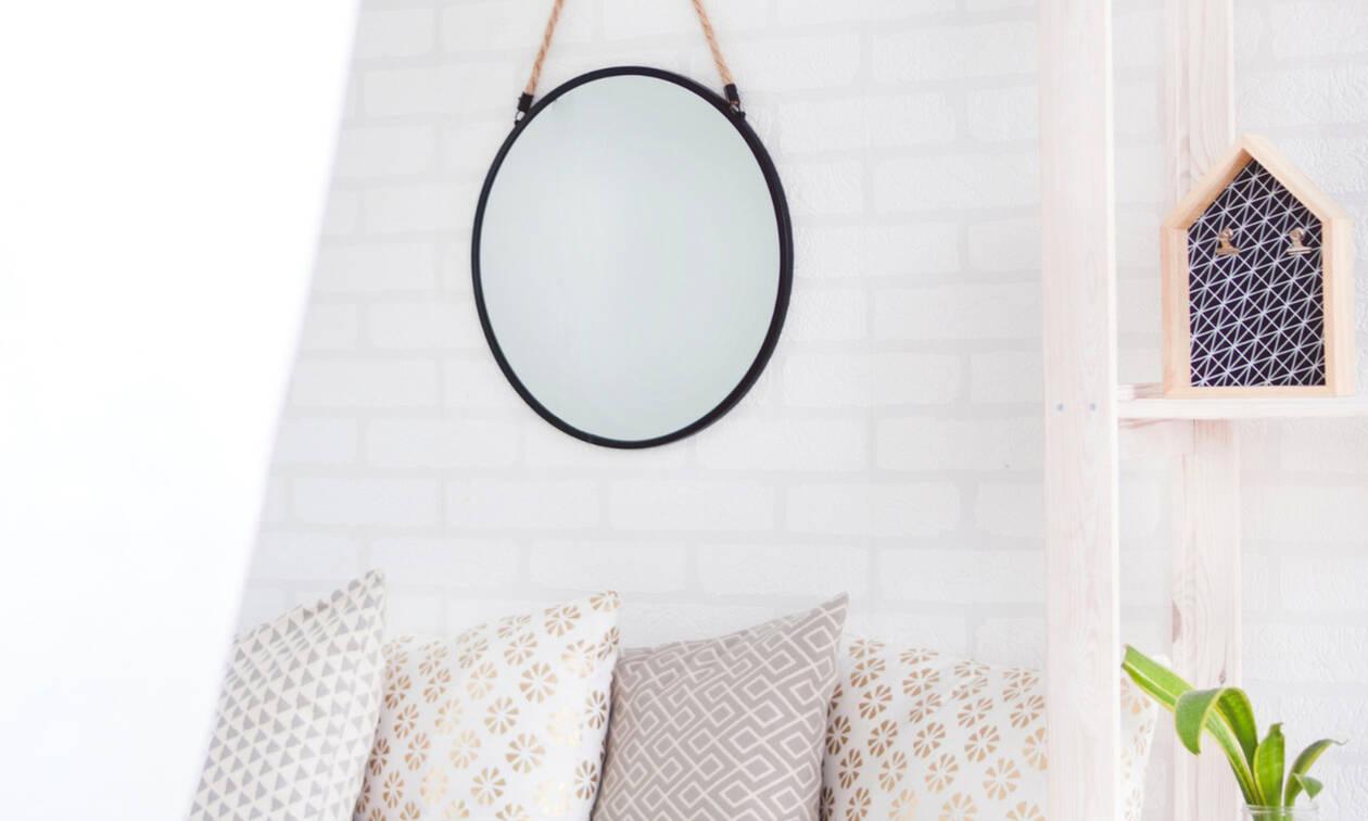 9 ιδέες για να φτιάξεις τον πιο stylish καθρέφτη για το χώρο σου