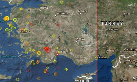 Землетрясение в Турции ощутили жители греческого острова Родос
