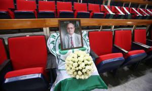 Συγκλονιστικές στιγμές στο ΟΑΚΑ «Θανάση σ' αγαπάμε, ποτέ δεν σε ξεχνάμε» (video)