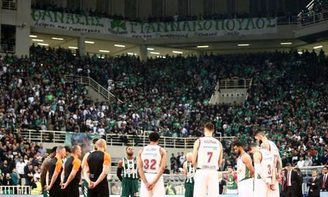 Απόλυτη σιγή και θερμό χειροκρότημα για τον Θανάση Γιαννακόπουλο (videos)