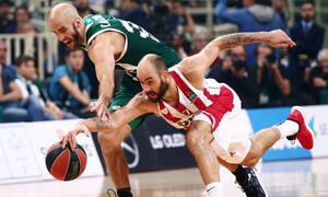 Παναθηναϊκός - Ολυμπιακός: Οι ισοβαθμίες κι οι αγώνες στη μάχη των playoffs της Euroleague (photos)