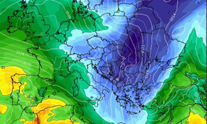 Καιρός: «Διχασμένα» τα προγνωστικά μοντέλα για την ψυχρή εισβολή της ερχόμενης εβδομάδας (video)