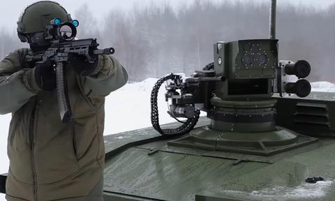 Το ρομπότ – άρμα μάχης της Ρωσίας που θα κάνει ανίκητο το πεζικό! (video)