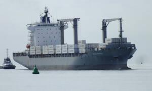 Ακυβέρνητο πλοίο με κοντέινερ λόγω μηχανικής βλάβης βόρεια της Άνδρου