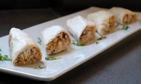 Η συνταγή της ημέρας: Burritos με κοτόπουλο