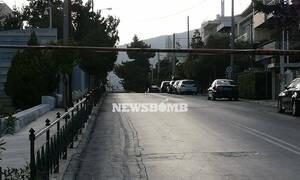 Χαλάνδρι: Οι πρώτες εικόνες από την επίθεση με χειροβομβίδα στο ρωσικό προξενείο