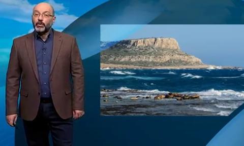 Καιρός: Ο Σάκης Αρναούτογλου για τους θυελλώδεις ανέμους και τις καιρικές συνθήκες της 25ης Μαρτίου