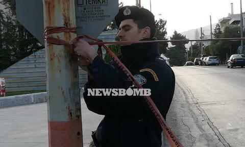Χαλάνδρι: Έχουν καταγραφεί σε κάμερα οι δράστες της επίθεσης στο ρωσικό προξενείο (pics)