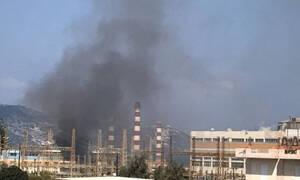 На Крите на станции ΔΕΗ произошел крупный пожар