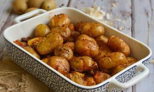 Η συνταγή της ημέρας: Baby πατάτες φούρνου