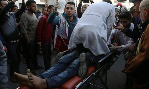 Γάζα: Δύο νεκροί και 55 τραυματίες από ισραηλινά πυρά