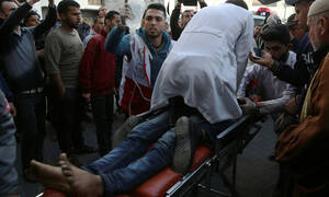 Γάζα: Δύο Παλαιστίνιοι νεκροί και 55 τραυματίες από ισραηλινά πυρά