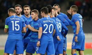 Εθνική Ελλάδος: Ξεκίνημα στο Βαντούζ με φόντο το Euro 2020