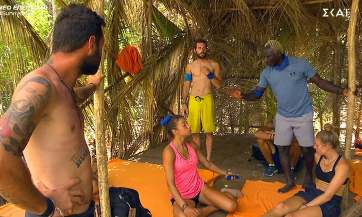 Survivor: Ένταση στην ελληνική ομάδα-Γιατί ο Τόνι τα «πήρε» με την Δήμητρα;