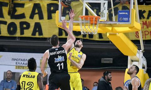 Η βαθμολογία της Basket League μετά το «διπλό» του ΠΑΟΚ επί του Άρη (photo)