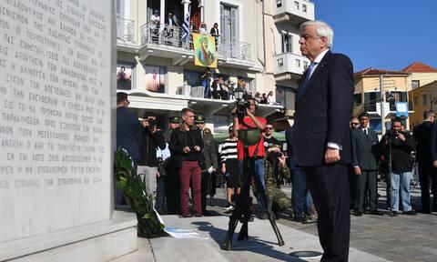 Το μήνυμα του Προέδρου της Δημοκρατίας για την Εθνική Εορτή της 25ης Μαρτίου