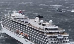 Νορβηγία: Τα βίντεο του τρόμου από το ακυβέρνητο κρουαζιερόπλοιο (pics+vids)