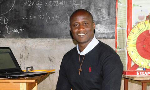 Σε εκπαιδευτικό από χωριό της Κένυας το «Νόμπελ Δασκάλων» - Κέρδισε 1.000.000 δολάρια