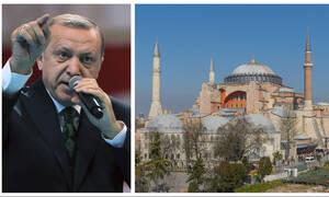 Απίστευτη πρόκληση Ερντογάν: «Η Αγιά Σοφιά μπορεί να γίνει τζαμί»