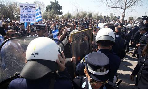 25η Μαρτίου: Ένταση μετά την παρέλαση στη Θεσσαλονίκη (pics+vid)