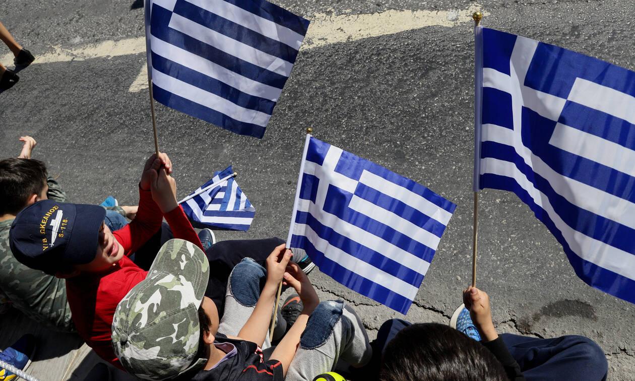 Τρίκαλα: Συλλήψεις στην παρέλαση της 25ης Μαρτίου για τη Μακεδονία (pics)