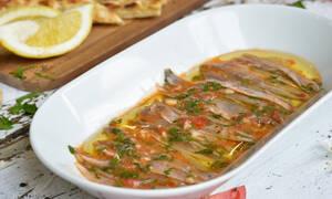 Η συνταγή της ημέρας: Γαύρος μαρινάτος