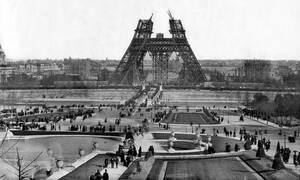 O πύργος του Άιφελ γίνεται 130 ετών: Δείτε εξαιρετικά σπάνιες φωτογραφίες από το «πώς φτιάχτηκε»