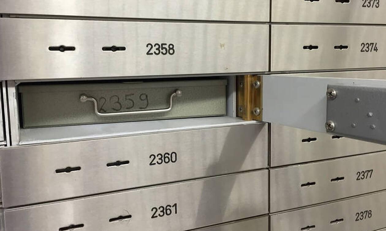 «Υπό παρακολούθηση» θέτει η εφορία τους κατόχους 200.000 τραπεζικών θυρίδων