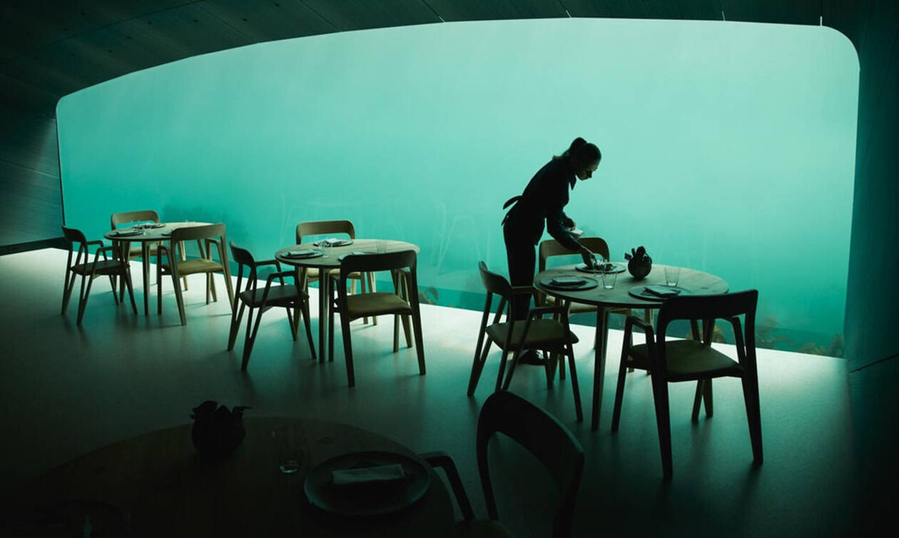 ΑΠΙΣΤΕΥΤΟ: Έφτιαξαν εστιατόριο κάτω από τη θάλασσα!