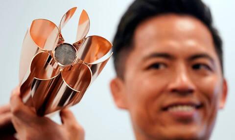 Εντυπωσιακή! «Άνθος κερασιάς» η Ολυμπιακή Δάδα για το Τόκιο 2020 (vid)