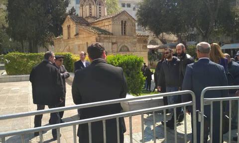 Θανάσης Γιαννακόπουλος: Στη Μητρόπολη Αθηνών ο Βασίλης Σπανούλης