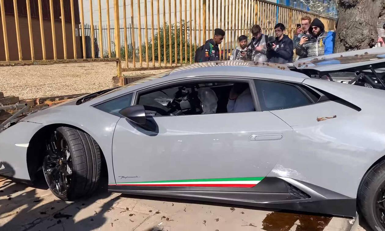 Ήθελε και Lamborghini - Δείτε πώς την κατάντησε και... κλάψτε (pics)