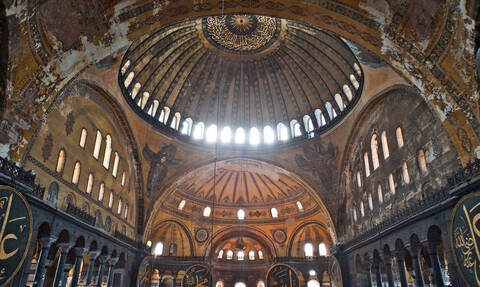 Греция: Предложение Эрдогана переделать собор Св.Софии в мечеть оскорбительно